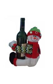 Игрушка на бутылку Снеговик