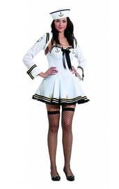 Белый костюм помощницы Капитана