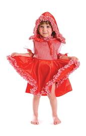 Костюм Красной Шапочки для девочек