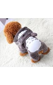 Костюм для собак Тоторо серый