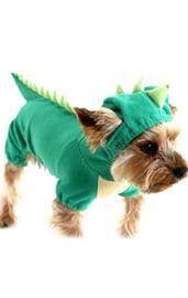 Костюм для собак Зеленый дракон