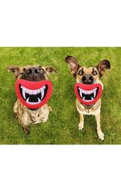 Игрушка для собак Улыбка с клыками