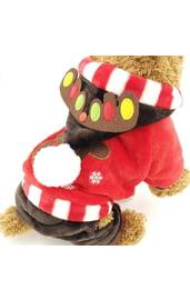 Новогодний костюм для собаки Олененок