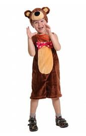Плюшевый костюм циркового медведя