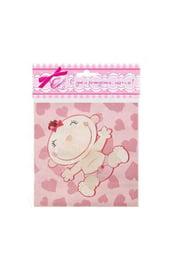 Розовая скатерть С днем рождения