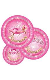 Бумажные тарелки Моя принцесса