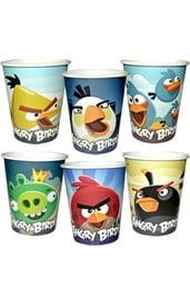 Бумажные стаканы Angry Birds 250 мл