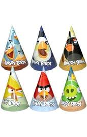 Праздничные колпаки Angry Birds