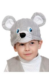 Плюшевая маска мышонка