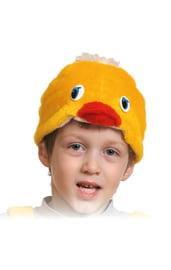 Плюшевая маска цыпленка