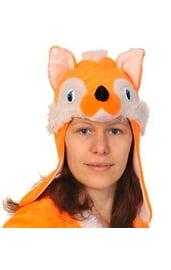 Маска лисицы для взрослых