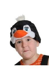 Плюшевая маска Пингвинчик