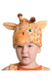 Плюшевая маска Жирафика
