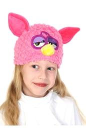 Шапочка-маска Ферби цвета фуксии