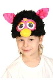 Черная шапочка-маска Ферби