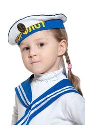 Морская бескозырка для детей