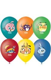 Воздушные шары Angry Birds Stella 5 шт
