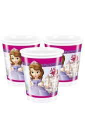 Пластиковые стаканы Принцесса София