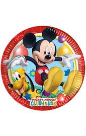 Бумажные тарелки Микки Маус