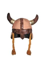 Шляпа викинга с косами
