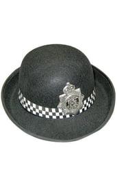 Черная шляпа полицейского