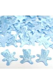 Голубое конфети Медвежонок