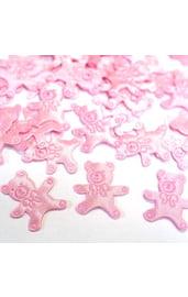 Розовое конфети Медвежонок