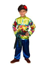 Яркий костюм Ванюши