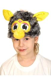 Серо-желтая шапочка Ферби