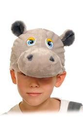Шапочка-маска Бегемотик