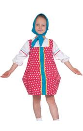 Малиновый костюм матрешки