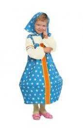 Голубой костюм Матрешки