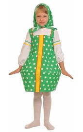 Зеленый костюм Матрешки