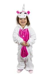 Детский кигуруми Розовый единорог