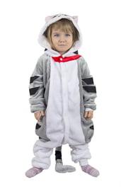 Детская пижама кигуруми Серый Кот