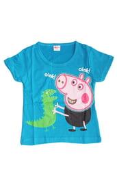 Голубая футболка Свинка Пеппа