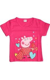 Розовая футболка Свинка Пеппа