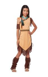 Детский костюм американской принцессы