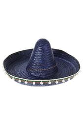 Синяя шляпа сомбреро