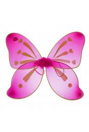 Малиновые крылья бабочки