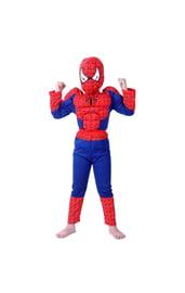 Детский костюм Человека Паука с мышцами