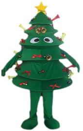 Ростовой костюм Новогодняя елка
