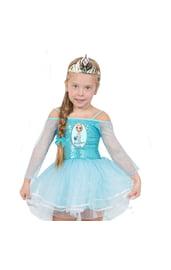 Костюм Эльзы из Frozen для девочки
