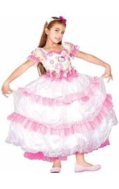 Цветочное платье Маленькой Кошечки