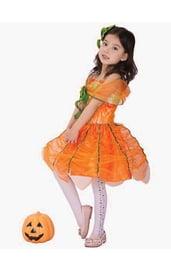 Детский костюм тыквочки