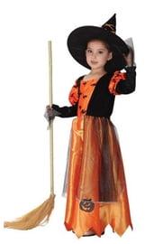 Детский костюм тыквенной ведьмы