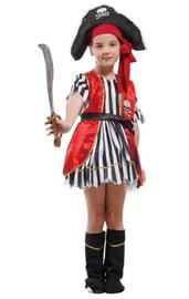 Детский костюм пиратской разбойницы