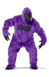 Костюм гориллы фиолетовый