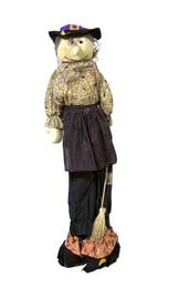 Декорация Пугало-Ведьмочка