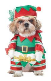 Костюм для собак Рождественский Эльф